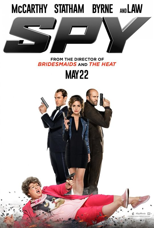 Spy Poster Large