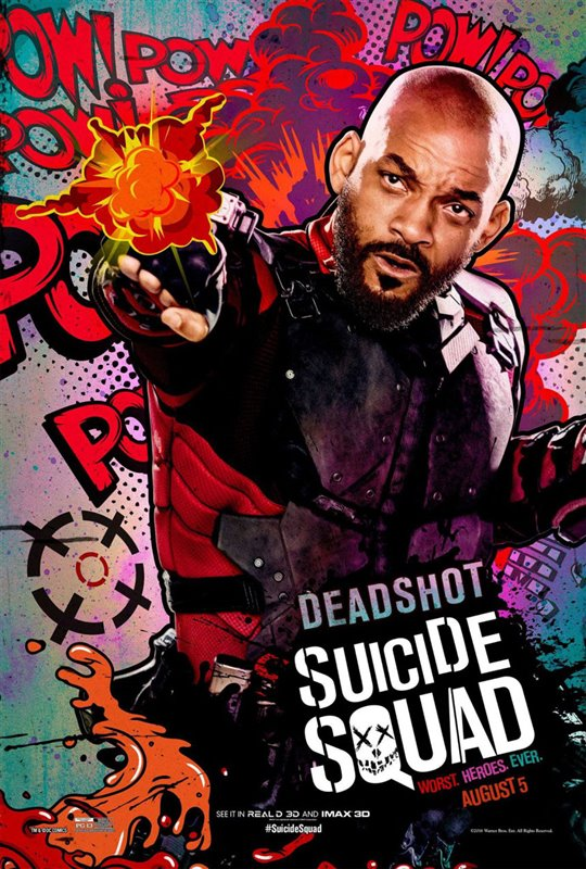 Suicide Squad Poster Large
