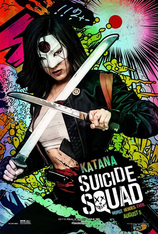 Suicide Squad Poster Large