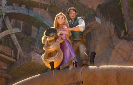 Tangled Poster Large