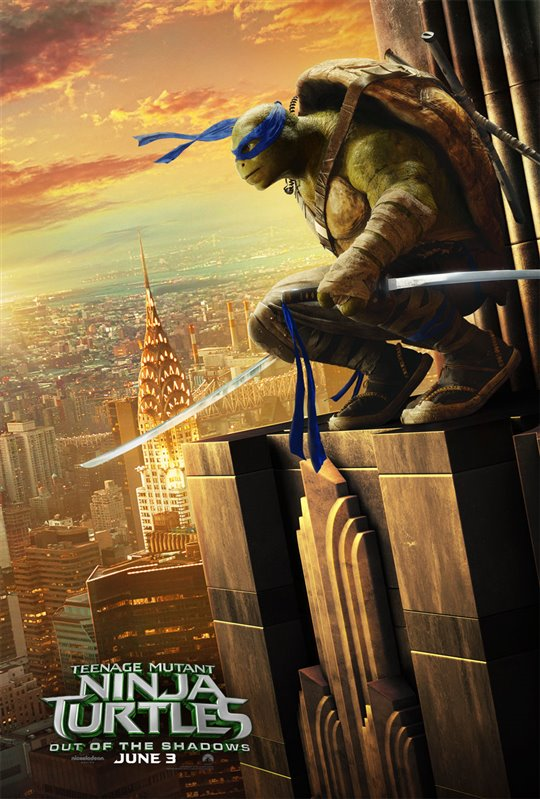 Teenage Mutant Ninja Turtles: Out of the Shadows Poster Large