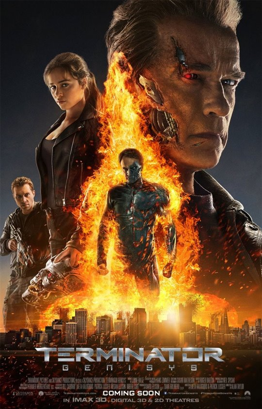 Terminator Genisys Poster Large