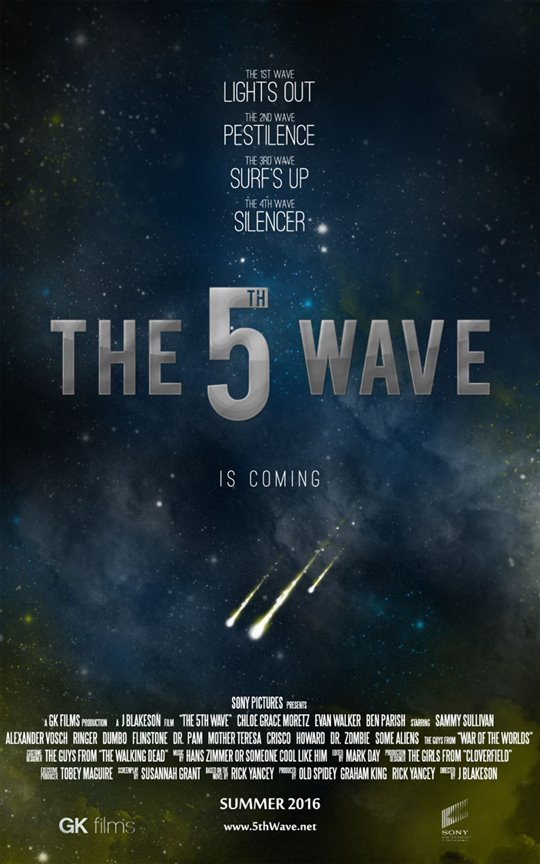 The 5th Wave Poster Large