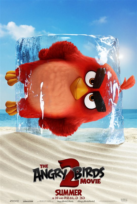The Angry Birds Movie 2 Poster Large