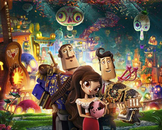 The Book of Life Poster Large