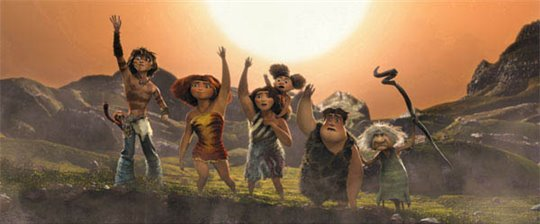 The Croods  Poster Large