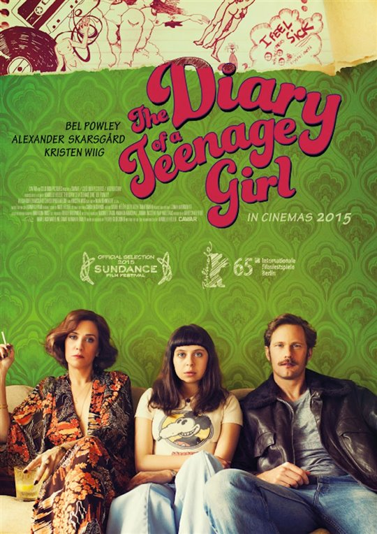 The Diary of a Teenage Girl Poster Large