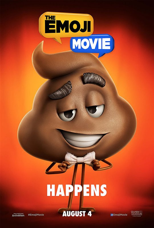 The Emoji Movie Poster Large