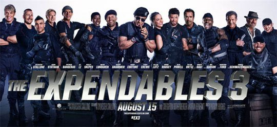 The Expendables 3 Poster Large