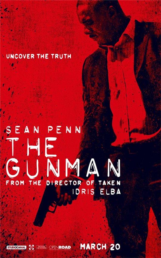 The Gunman Poster Large