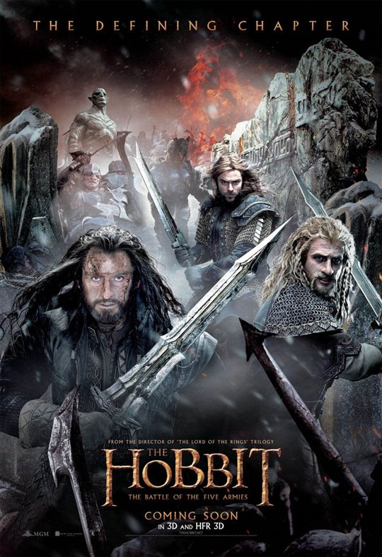 The Hobbit: The Battle of the Five Armies Poster Large