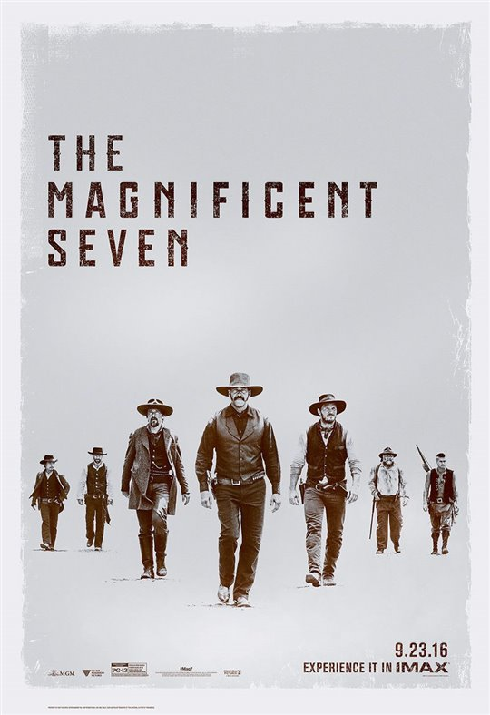 The Magnificent Seven Poster Large