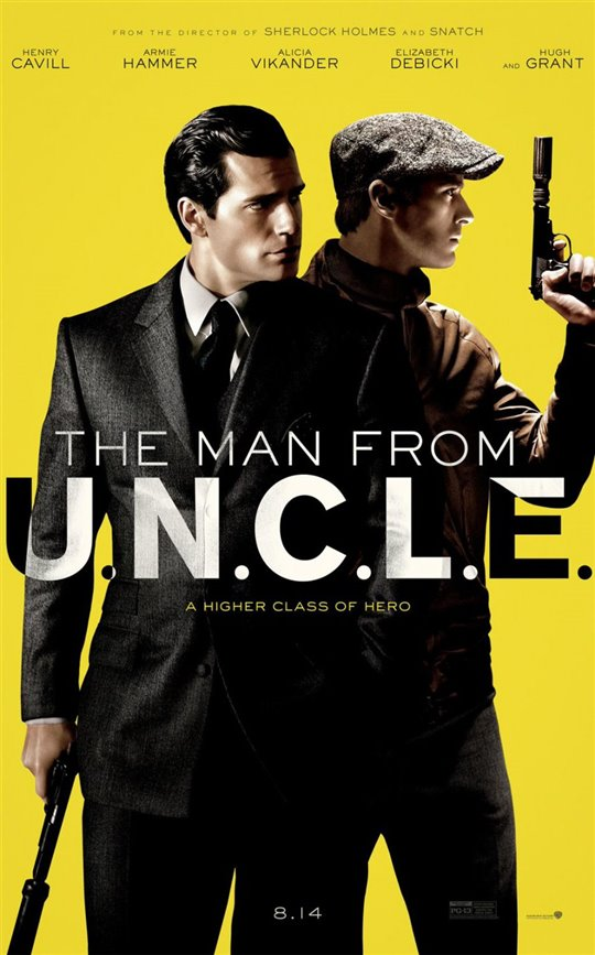 The Man from U.N.C.L.E. Poster Large