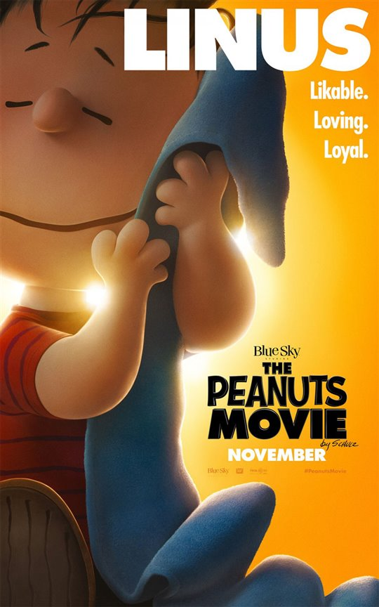 The Peanuts Movie Poster Large