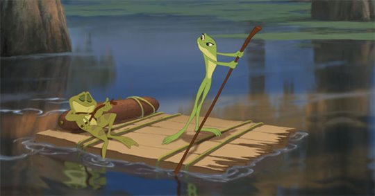 The Princess and the Frog Poster Large