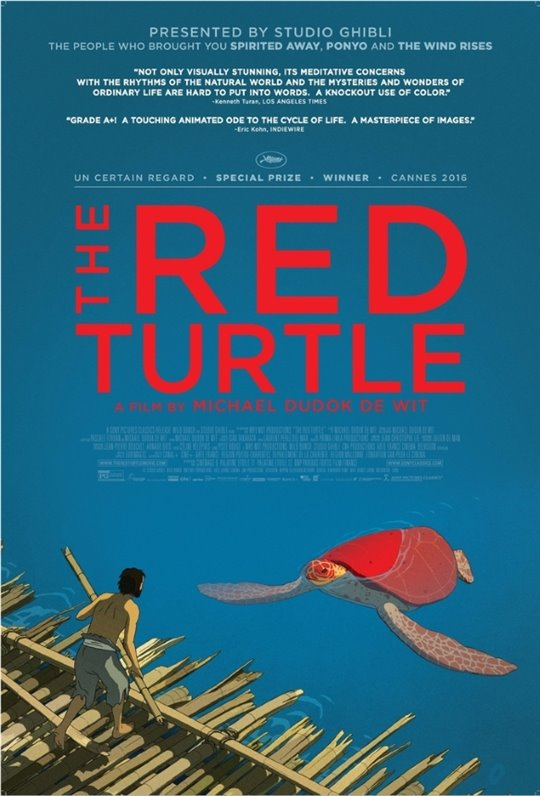 The Red Turtle Poster Large