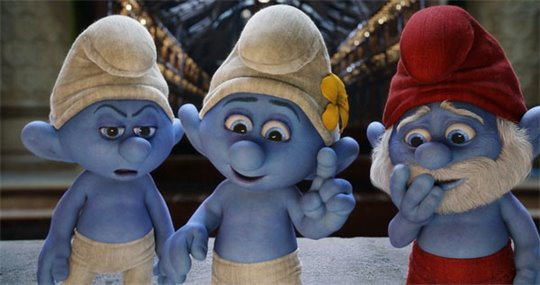 The Smurfs 2 Poster Large