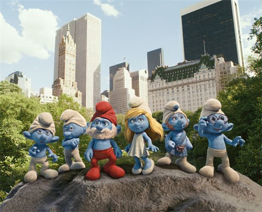 The Smurfs Poster Large