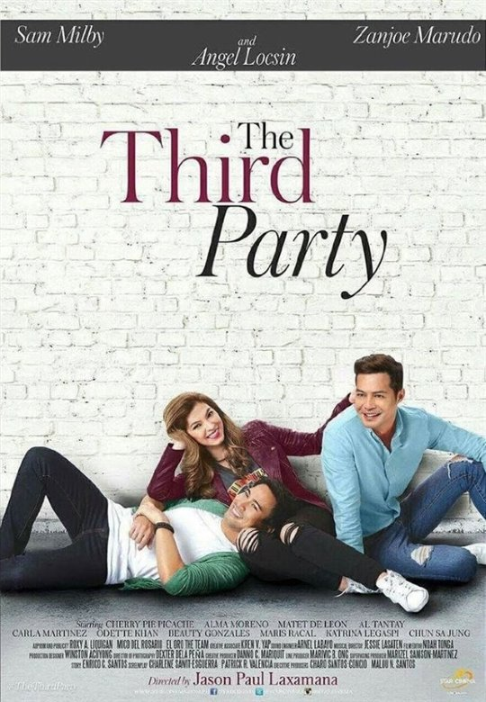 The Third Party Poster Large