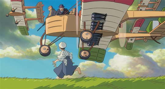 The Wind Rises (Dubbed) Poster Large