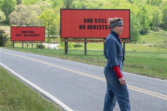 Three Billboards Outside Ebbing, Missouri Poster Large