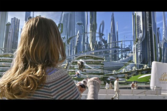 Tomorrowland Poster Large