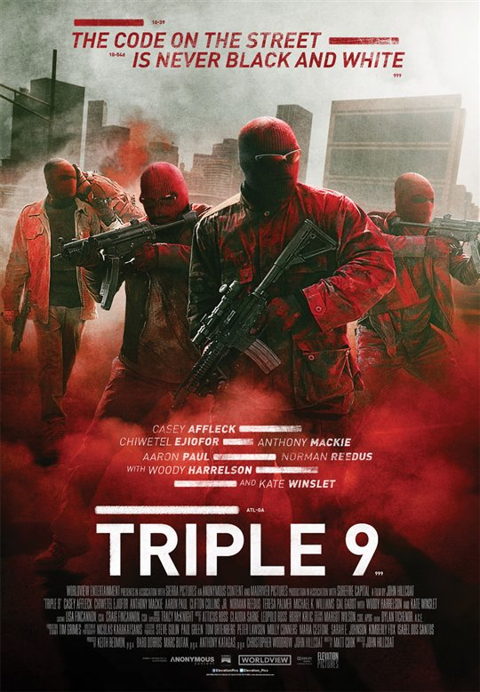 Triple 9 Poster Large