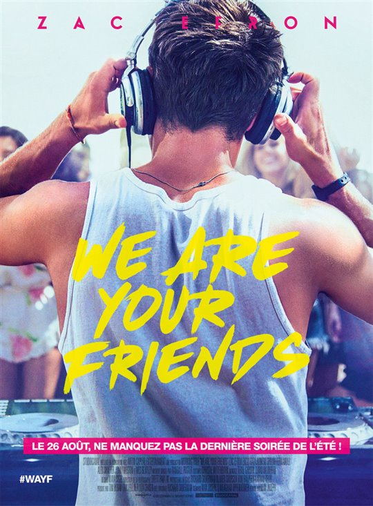 We Are Your Friends Poster Large