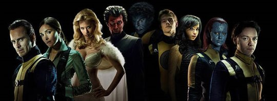 X-Men: First Class Poster Large