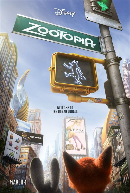 Zootopia Poster Large