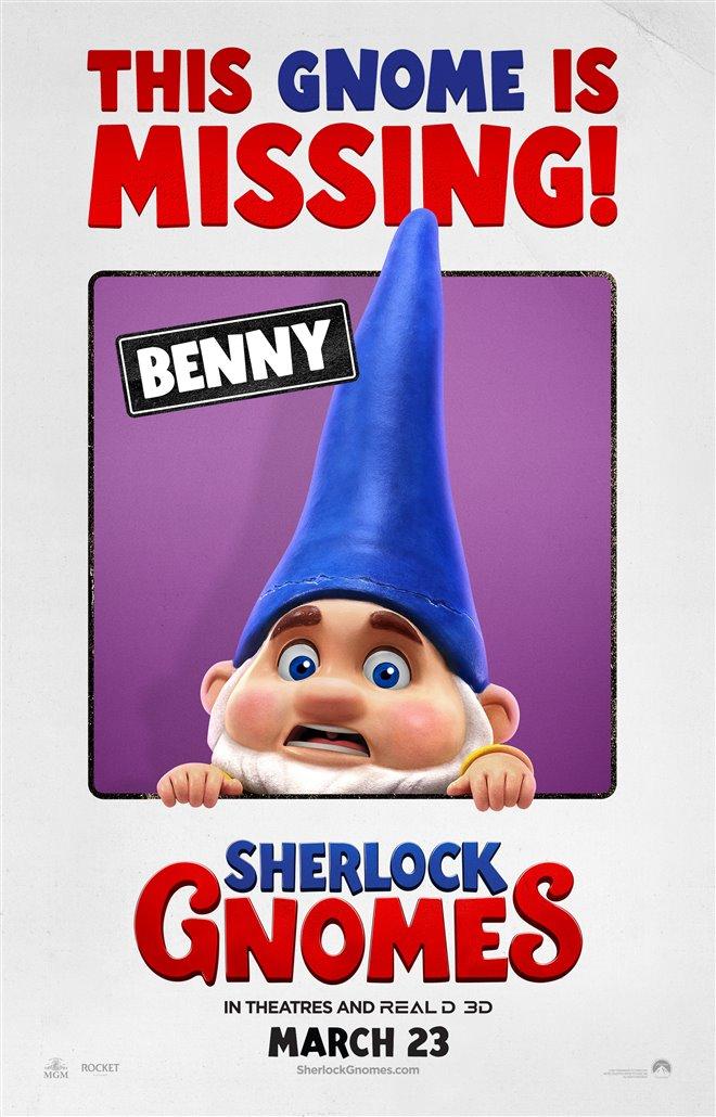 Sherlock Gnomes Photo 35 - Large