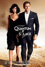 007 Quantum Movie Poster