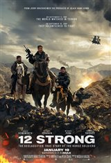 12 Strong (v.o.a.) Affiche de film