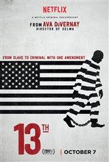 13th (Netflix) Movie Poster