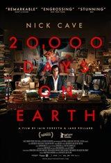 20,000 jours sur terre (v.o.a.s.-t.f.) Affiche de film