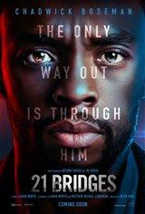 21 Bridges Movie Poster