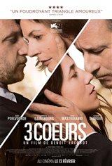 3 coeurs Affiche de film