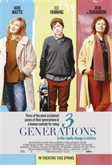 3 Generations Movie Poster