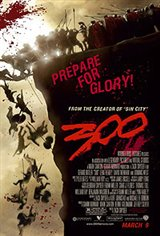 300 (v.f.) Affiche de film