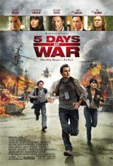 5 Days of War Movie Poster