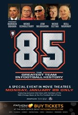 '85: The Greatest Team in Football History Poster