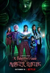 A Babysitter's Guide to Monster Hunting (Netflix) Affiche de film
