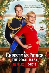 A Christmas Prince: The Royal Baby (Netflix) Movie Poster