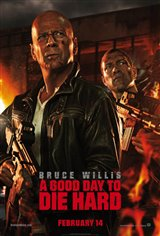A Good Day to Die Hard: The IMAX Experience Movie Poster