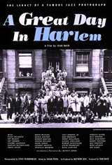 A Great Day in Harlem Movie Poster