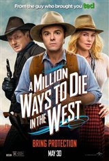 A Million Ways to Die in the West Large Poster