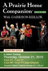A Prairie Home Companion: Live in HD Movie Poster