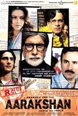 Aarakshan (Reservation) Movie Poster