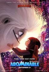 Abominable 3D Movie Poster