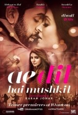 Ae Dil Hai Mushkil Movie Poster